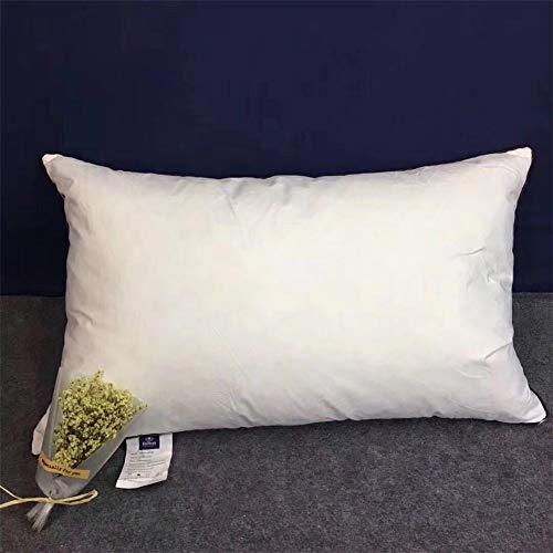 Donskussen, Hotel Pillows, Super Soft Hotel Quality 100% wit ganzendonzen wit kussen 48 x 74 cm