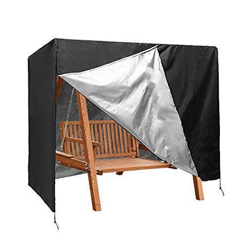 N/H columpio de 3 plazas, resistente al agua, funda protectora para columpio de jardín, resistente al viento y a los rayos UV