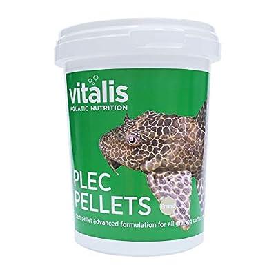 Vitalis Plec Pellets (8mm) Fish Food 300g
