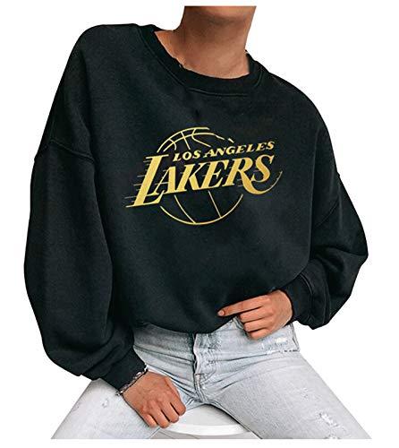 FDRYA Sudadera Sudadera con Capucha Camiseta de Camiseta de Baloncesto para Mujer - Jersey con Capucha Suelta Ropa de Baloncesto Sudadera Traje de Entrenamiento Deportivo 2-L