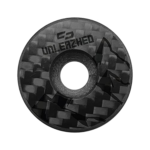 unleazhed CF01 Carbon Top Cap | Mountainbike Vorbaukappe | Made in Germany