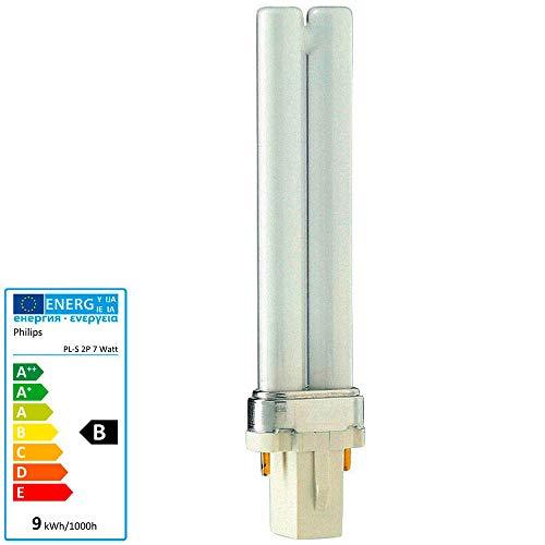 Preisvergleich Produktbild PHILIPS MASTER PL-S 7W / 840 2Pin G23 - Kompaktleuchtstofflampe - Neutralweiß