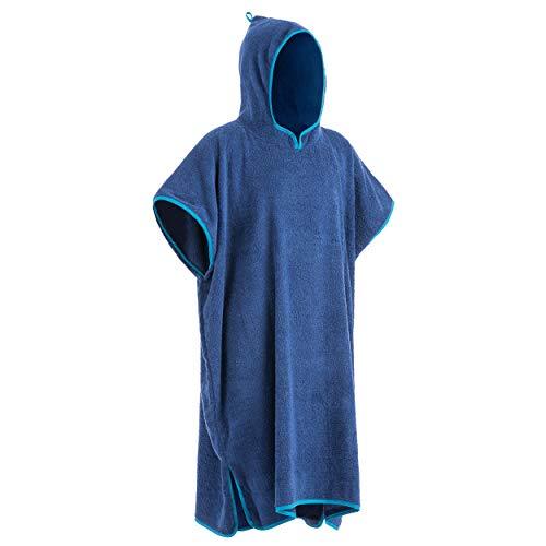 Yello Ponczo dla dorosłych, dla kobiet i mężczyzn, niebieski, jeden rozmiar