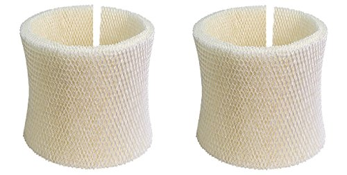 Nispira MAF2 Humidifier Super Wick Wicking Filter Replacement Compatible With Essick AIRCARE MAF2 Moist Air Sears Kenmore, 2 Filters