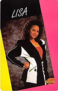 Lisa Turtle trading game card Saved by the Bell #53 Lark Voorhies Size 2x3 inches