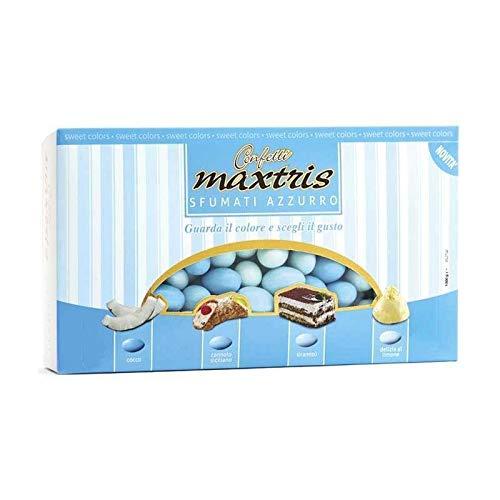 Confetti Maxtris , Sfumato Azzurro, 1 kg - 1000 gr
