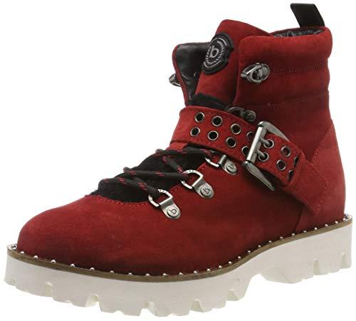 bugatti Damen 431808301469 Stiefeletten, Rot (Red/Black 3010), 40 EU