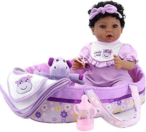 Reborn black baby doll _image3