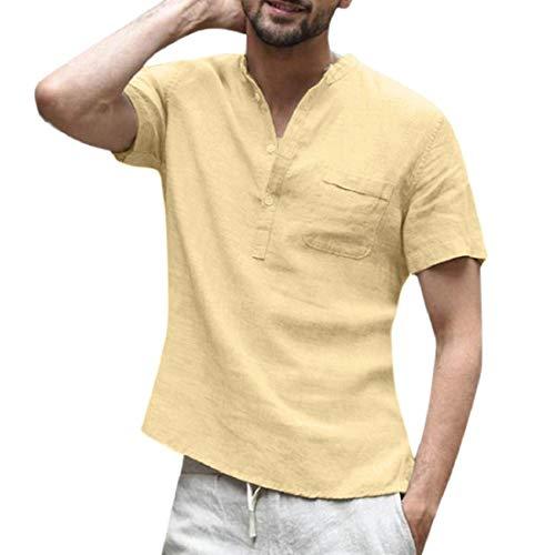 Buyaole,Camiseta Hombre Y Mujer Iguales,Camisa Hombre 100% Poliester,Sudadera Hombre 6XL,Polo Hombre Negro Manga Corta,Blusas Gasa Mujer De Vestir