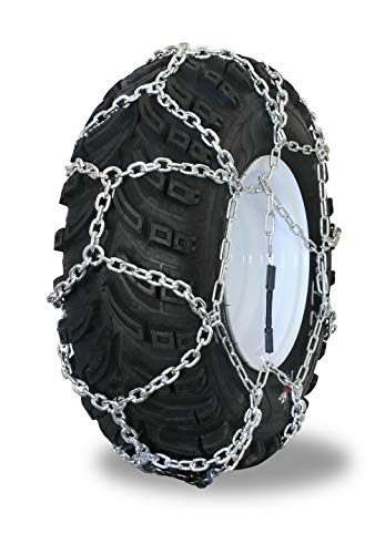 Grizzlar GTN-524 Garden Tractor/Snowblower Net/Diamond Style Alloy Tire Chains 15x5.00-6