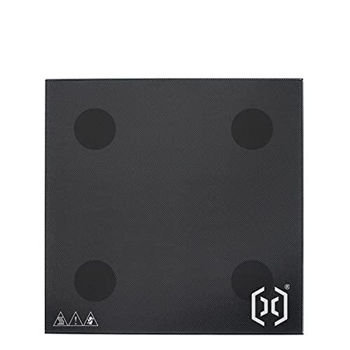 RFElettronica, Placa de cristal calefactado, superficie de placa, revestimiento de 310 x 310 mm, repuesto para impresora 3D Artillery Sidewinder X1
