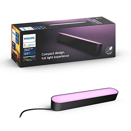 【日本正規品】Signify Philips Hue Play ライトバー  バータイプLEDライト1個+専用電源アダプタ1個 ゲーミングライト  ブラック 915005879201