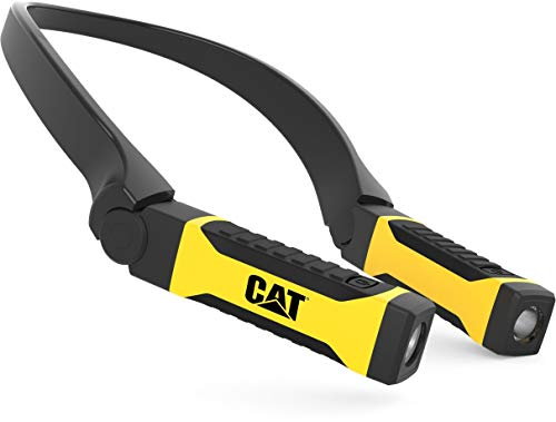 CAT Merchandise CT7100 200 Lumens Bright LED Hands-Free Neck Light, Multicoloured, one Size