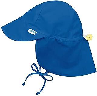 Sombreros de Sol Para Niños Niñas UPF 50+ Protección de Cuello Anti-UV El Verano Gorro de Playa con Correas de Barbilla Aj...