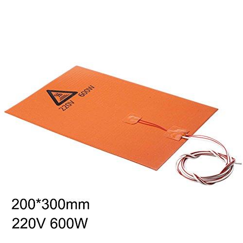 ZREAL Heatbed 200/600/750W 220V Alineación Réchauffeur