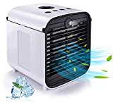Brain Freezer Personal Air Cooler, Air Conditioner, Humidifier, Purifier, Aroma Diffuser 4 in