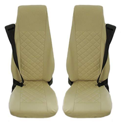 TEXMAR Diseñado para adaptarse a SCANIA R, SCANIA P, SCANIA G Fundas de asiento de camión 2 asientos neumáticos