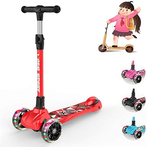 2 wheel scooter with handle _image0