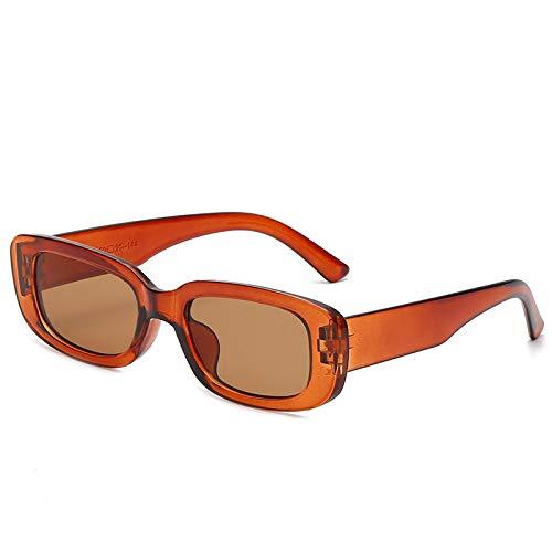 Gafas De Sol Gafas De Sol con Montura Cuadrada Pequeña Mujeres Hombres Gafas Gafas De Lujo Femeninas 7