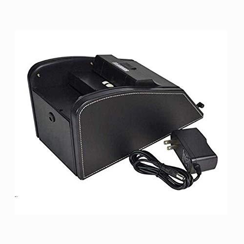 WYJW Professioneller Kartenmischer, automatischer Kartenmischer 2 in 1 Shuffle Deal Machine Elegance Batterie in hochwertigem Kunststoffgehäuse betrieben, 1