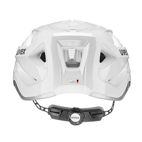 Uvex Unisex– Erwachsene Active Radhelm, White, 56-60 - 3