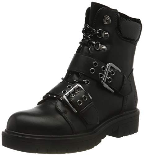 Rieker Damen 91524 Mode-Stiefel, schwarz, 42 EU