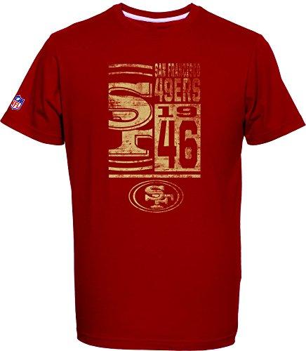 Majestic NFL Football T-Shirt San Francisco 49ers Roedy (M)