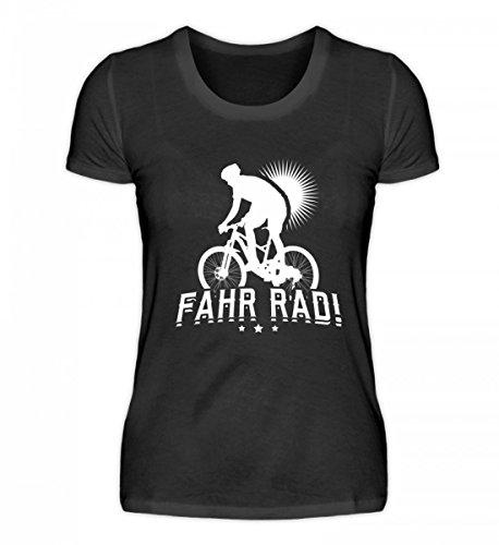 Chorchester - Maglietta da donna di alta qualità, ideale per ogni ciclista Nero XL