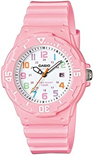 Casio Women's White Dial Resin Band Watch - LRW200H-4B2V