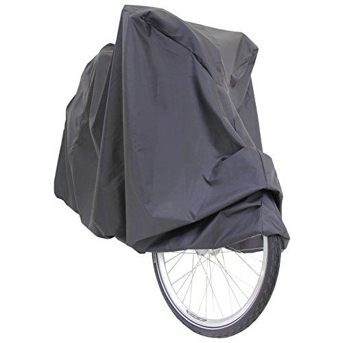 Roller Fahrrad Abdeckung Schutzbezug Schutzhaube Abdeckplane Abdeckhaube Garage Fahrradabdeckung Schwarz NEU