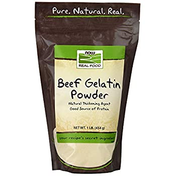 NOW Foods Beef Gelatin Powder,16-Ounce Pack of 2