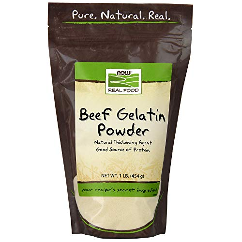 NOW Foods Beef Gelatin Powder,16-Ounce(Pack of 2)