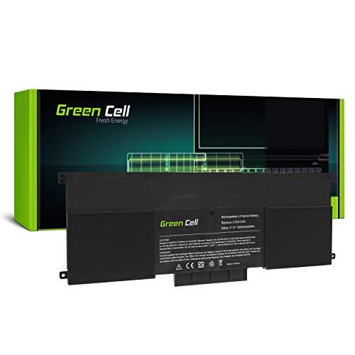 Green Cell Akku für Asus ZenBook UX301 UX301L UX301LA Laptop (4500mAh 11.1V Schwarz)