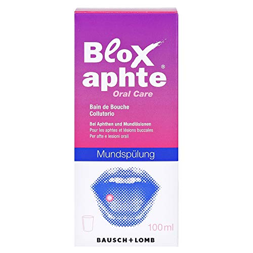 Bloxaphte Oral Care Mundspülung, 100 ml