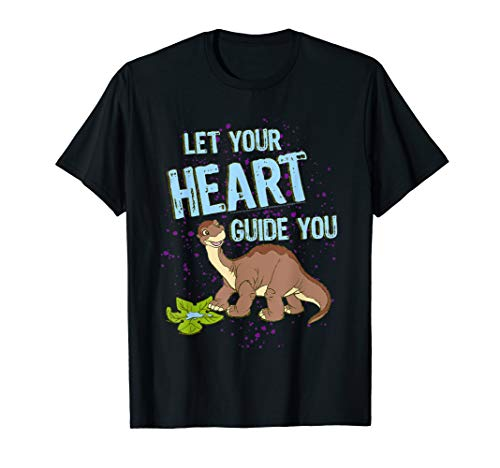Land Before Time Littlefoot Let Your Heart Guide You T-Shirt