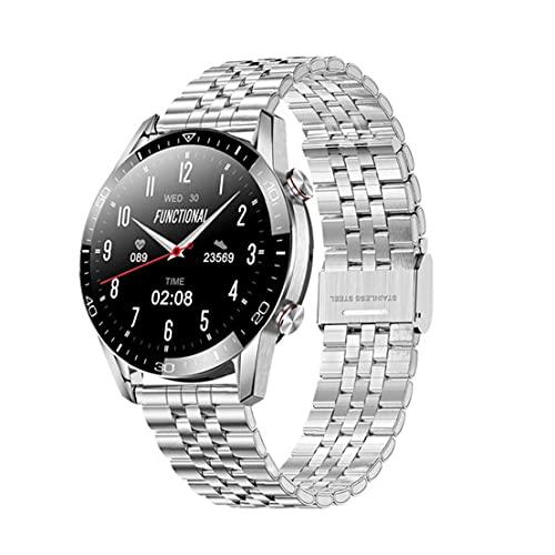 FeelMeet Inteligente Venda de Reloj de Bluetooth Llamada Fitness Deportivo Contador de calorías Relojes de Pantalla táctil Completa SmartWatch Impermeable para Mujer de los Hombres de la Astilla