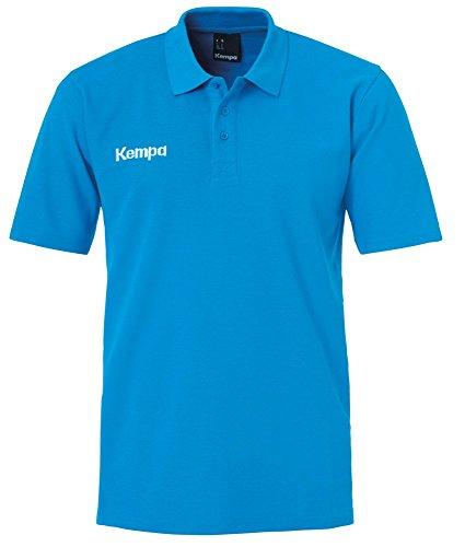 FanSport24 Kempa Handball Classic Poloshirt Herren blau Größe XL