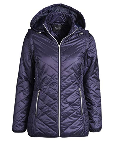 Bexleys Woman by Adler Mode Damen mit Kapuze Marine 42