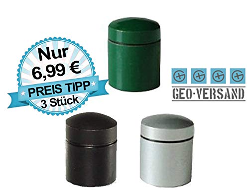 geo-versand 3 x magnetischer Nano TOP Preis Geocaching Behälter Versteck Cache magnetisch