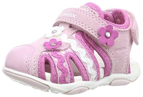 Geox B Sandal Agasim Girl B, Sandalias para Bebés