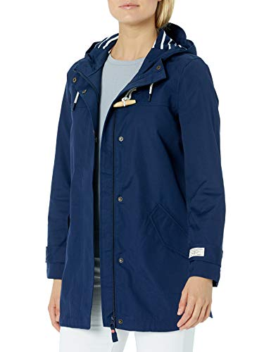 Tom Joule Damen Coast Mid Regenjacke, French Navy, 10