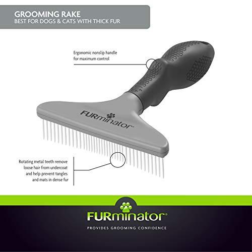 Best Overall - FURminator Grooming Rake