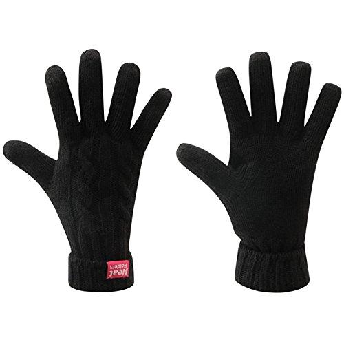 Heat Holders, Gants thermiques Noir S/M (Red Label)