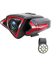 AKEEYO 自転車用スポーツカメラ 1080P 自転車ドライブレコーダー 【2019最新版】方向指示器装備 バイク用スポーツカメラ 120