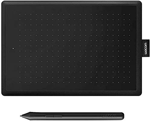 Wacom Graphic Tablet One by Small, Black