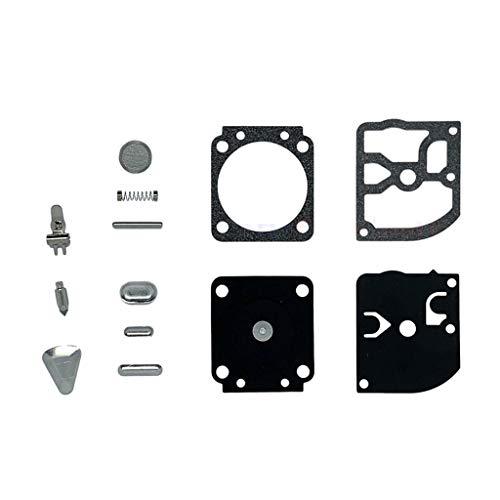 Carburador Chainsaw Carburetor Compatible con STIHL MS170 MS180 017 018 Sierra de cadena Compatible con Zama C1Q-S57 C1Q-S57A C1Q-S57B Kit de reparación de carbohidratos OEM # 1130 120 0603 Engine