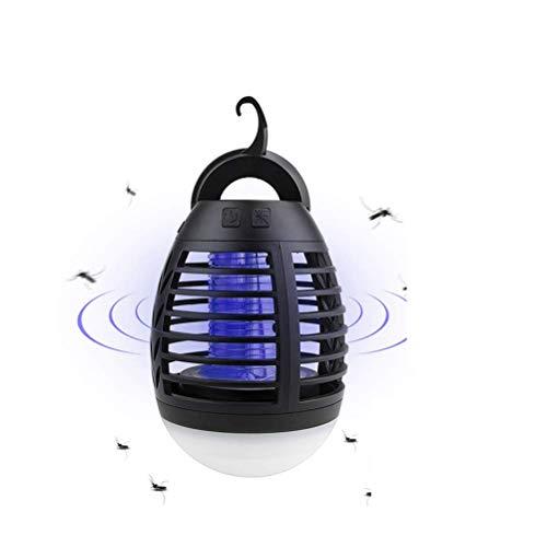 Sahgsa Eléctrico Insecto Asesino Camping batería Carpa Linterna Mosquito Asesino luz Mosquito...