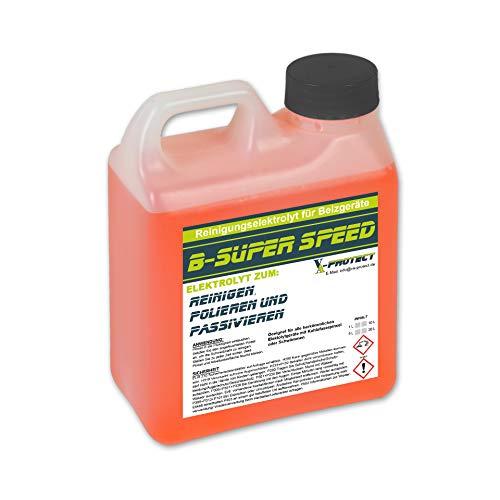 VA-PROTECT B-Super-Speed 1 Liter Elektrolyt Edelstahl beizen Reinigungsflüssigkeit Beizgerät