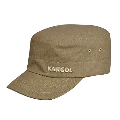 Kangol Denim Army Cap - casquette de Baseball - Mixte, Beige, Small