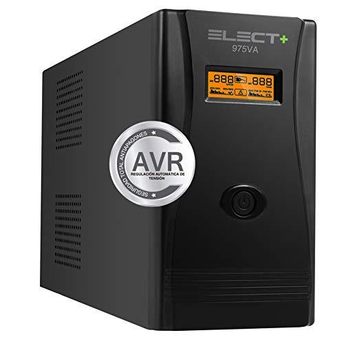 E-NUC Elect + UPS 975VA/550W VA Sistema SAI EL0002